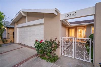 20342 Runnymede Street, Winnetka, CA 91306 - MLS#: SR18114134