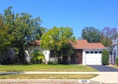 5027 Nagle Avenue, Sherman Oaks, CA 91423 - MLS#: SR18124161