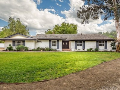 5547 Paradise Valley Road, Hidden Hills, CA 91302 - MLS#: SR18130429