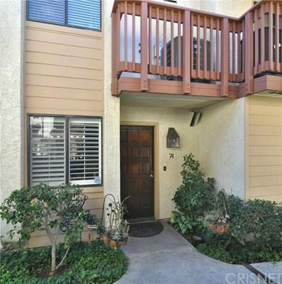 21555 Burbank Boulevard UNIT 74, Woodland Hills, CA 91367 - MLS#: SR18131264