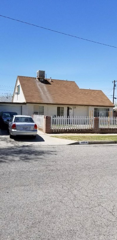 44015 Higbee Avenue, Lancaster, CA 93534 - MLS#: SR18131422