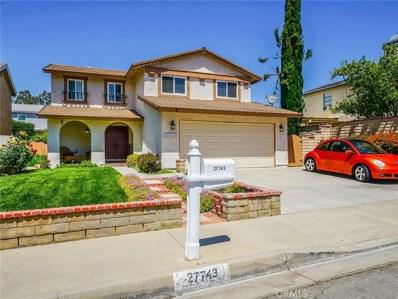 27743 Caraway Lane, Saugus, CA 91350 - MLS#: SR18133396