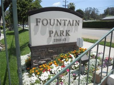 22101 Oxnard Street, Woodland Hills, CA 91367 - MLS#: SR18135885