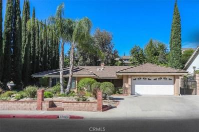17420 Rushing Drive, Granada Hills, CA 91344 - MLS#: SR18142189