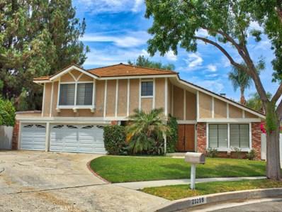 23255 Windom Street, West Hills, CA 91304 - MLS#: SR18145765