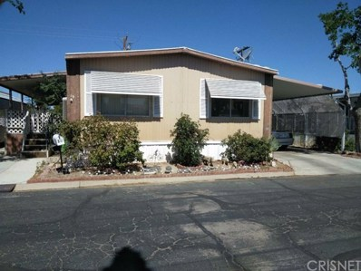 2550 E Ave I UNIT 19, Lancaster, CA 93535 - MLS#: SR18146178