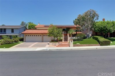 19447 Pine Valley Avenue, Porter Ranch, CA 91326 - #: SR18146883