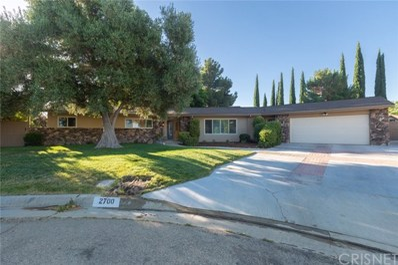 2700 Still Meadow Lane, Lancaster, CA 93536 - MLS#: SR18147553