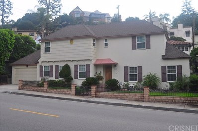 2740 N Beachwood Drive, Hollywood Hills East, CA 90068 - MLS#: SR18154866