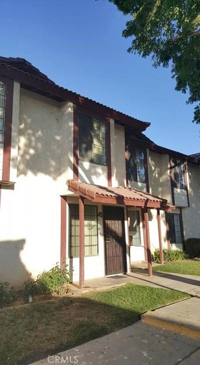 2260 E Avenue Q4 UNIT 49, Palmdale, CA 93550 - MLS#: SR18155683
