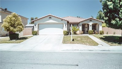 45539 Ruth Court, Lancaster, CA 93535 - MLS#: SR18157480
