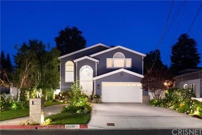 23228 Canzonet Street, Woodland Hills, CA 91367 - MLS#: SR18163409