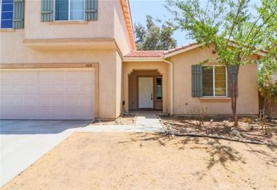 3614 Desert Oak Drive, Palmdale, CA 93550 - MLS#: SR18169416
