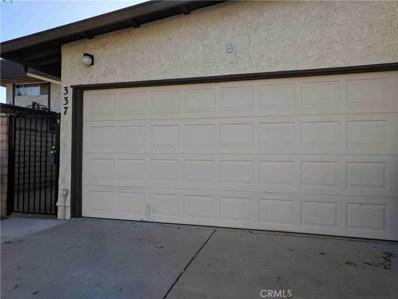 337 Capistrano Court, Camarillo, CA 93010 - MLS#: SR18187750