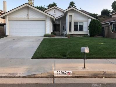 22942 Tupelo Ridge Drive, Valencia, CA 91354 - MLS#: SR18189447