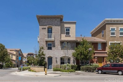 4363 Eileen Street UNIT 1, Simi Valley, CA 93063 - MLS#: SR18193057