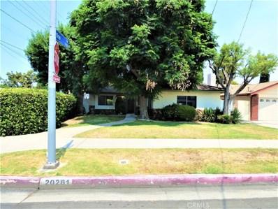 20261 Runnymede Street, Winnetka, CA 91306 - MLS#: SR18193336