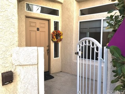25959 Stafford Canyon Road UNIT B, Stevenson Ranch, CA 91381 - MLS#: SR18200637