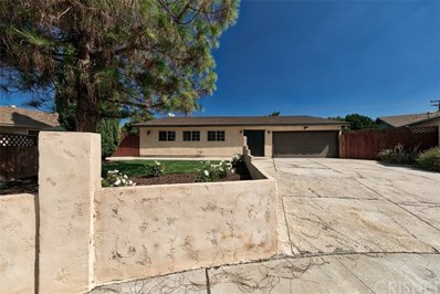 1687 Sabina Circle, Simi Valley, CA 93063 - MLS#: SR18206200
