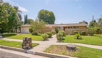 17510 Mayall Street, Northridge, CA 91325 - MLS#: SR18208652