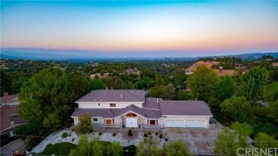 24833 Jacob Hamblin Road, Hidden Hills, CA 91302 - MLS#: SR18209173
