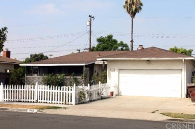 945 N Chippewa Avenue, Anaheim, CA 92801 - MLS#: SR18209490