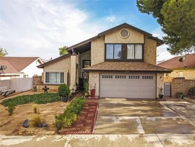 2636 Joshua Hills Drive, Palmdale, CA 93550 - MLS#: SR18209695