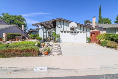 5449 Softwind Way, Agoura Hills, CA 91301 - MLS#: SR18210086