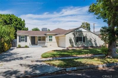 18407 Domino Street, Tarzana, CA 91335 - MLS#: SR18213153
