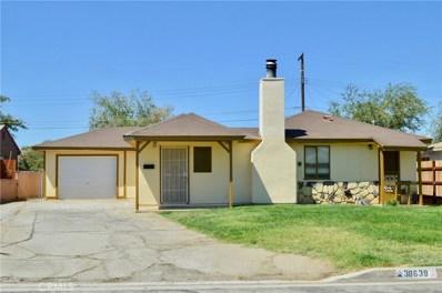 38639 Malby Avenue, Palmdale, CA 93550 - MLS#: SR18213710