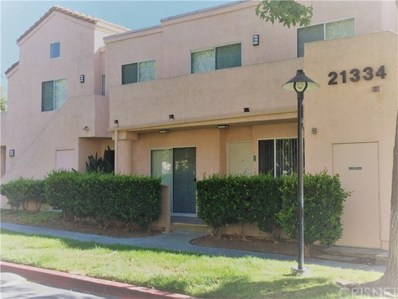 21334 Nandina Lane UNIT 101, Newhall, CA 91321 - MLS#: SR18219050