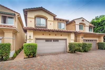 14526 Weddington Street UNIT 107, Sherman Oaks, CA 91411 - MLS#: SR18219176