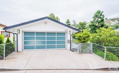 4134 Knobhill Drive, Sherman Oaks, CA 91403 - MLS#: SR18222332