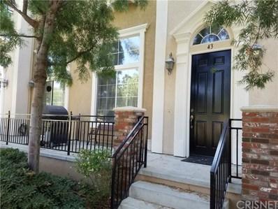 23419 Westbrook Lane UNIT 43, Valencia, CA 91355 - MLS#: SR18223130