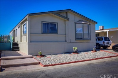 1550 20th Street UNIT 45, Rosamond, CA 93560 - MLS#: SR18225921