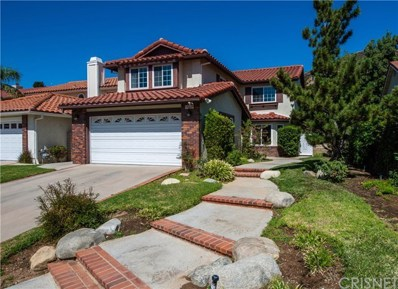 19619 Eagle Ridge Lane, Porter Ranch, CA 91326 - MLS#: SR18229926