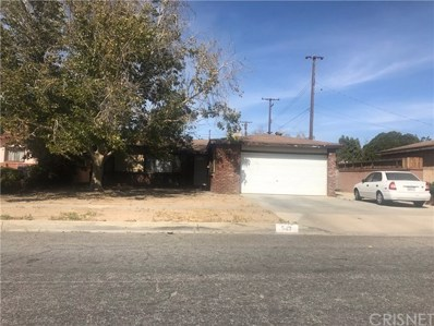 543 E Nugent Street, Lancaster, CA 93535 - MLS#: SR18235402