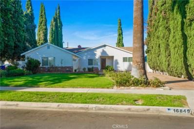 16849 Blackhawk Street, Granada Hills, CA 91344 - MLS#: SR18235579