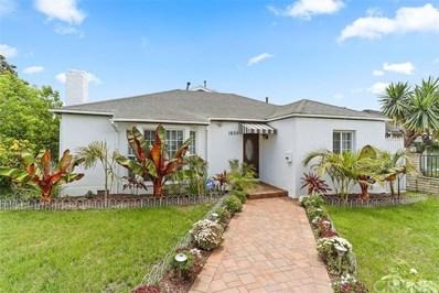 1800 S Hayworth Avenue, Los Angeles, CA 90035 - MLS#: SR18237035