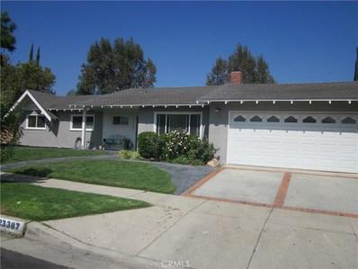 23387 Hartland Street, West Hills, CA 91307 - MLS#: SR18237151