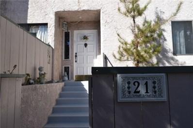 7900 Topanga Canyon Boulevard UNIT 21, Canoga Park, CA 91304 - MLS#: SR18239170