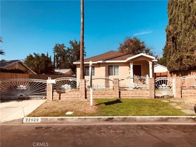 22029 Covello Street, Canoga Park, CA 91303 - MLS#: SR18240743