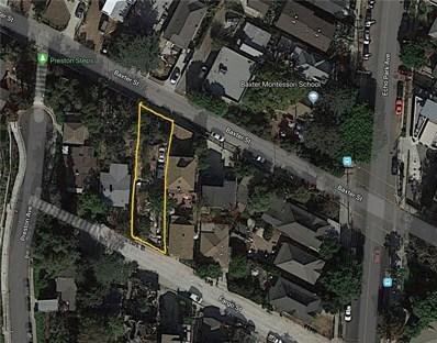 1621 Fargo Street, Echo Park, CA 90026 - MLS#: SR18240998