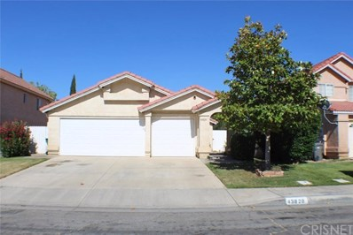 43820 8th Street E, Lancaster, CA 93535 - MLS#: SR18252466