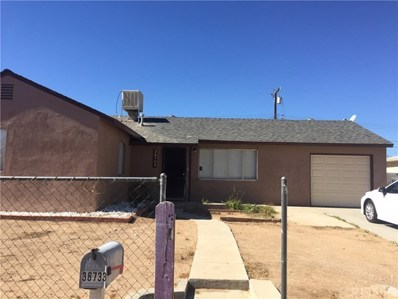 38733 Pond Avenue, Palmdale, CA 93550 - MLS#: SR18257225