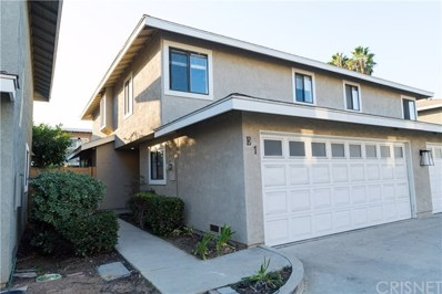 552 Hamilton Street UNIT E1, Costa Mesa, CA 92627 - MLS#: SR18258687