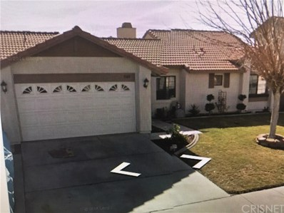 5160 Cantlewood Drive, Palmdale, CA 93552 - MLS#: SR18259307
