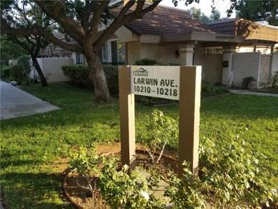 10218 Larwin Avenue UNIT 1, Chatsworth, CA 91311 - MLS#: SR18260501