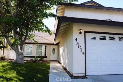 43015 Pearlwood Drive, Lancaster, CA 93536 - MLS#: SR18262212