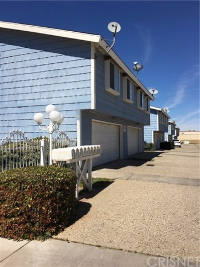 5033 W Avenue L10 UNIT 1, Lancaster, CA 93536 - MLS#: SR18262220